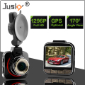 Jusky Ambarella A7LA50 Car DVR GS52D Car Camera Full HD 1296P 170 Degrees Wide Angle with G-Sensor Dash Cam with optional GPS
