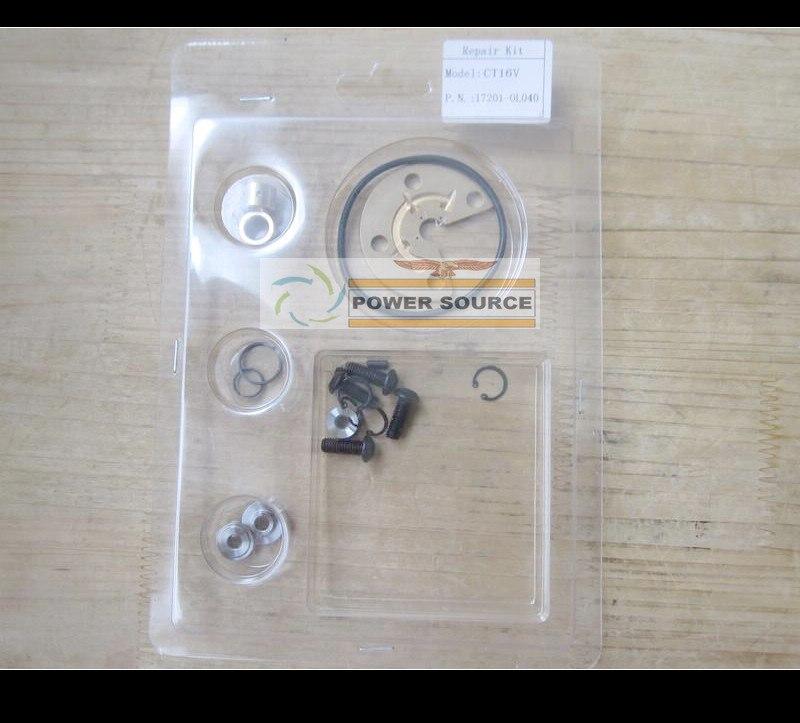 Турбо Ремонтный комплект CT16V 17201-OL040 17201-30110 17201-30160 17201-30150 для TOYOTA Landcruiser HILUX ViGO3000 1KDFTV 1KD-FTV 3.0L