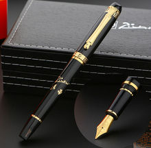 real black Picasso 926 Fountain Pen business gift pen free shipping school and office Writing Supplies send teacher student