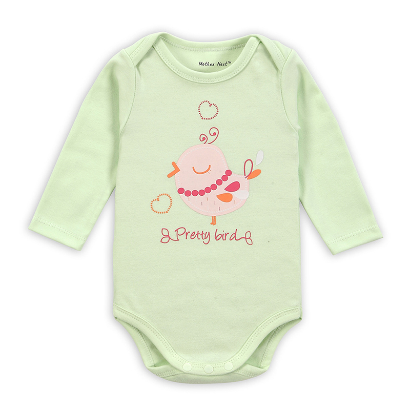 Spring Summer Newborn Girl Boy Baby Clothes Infant Bebe Long Sleeve Cotton Rompers 0-1Yrs Baby Cartoon Roupas Jumpersuit Costume