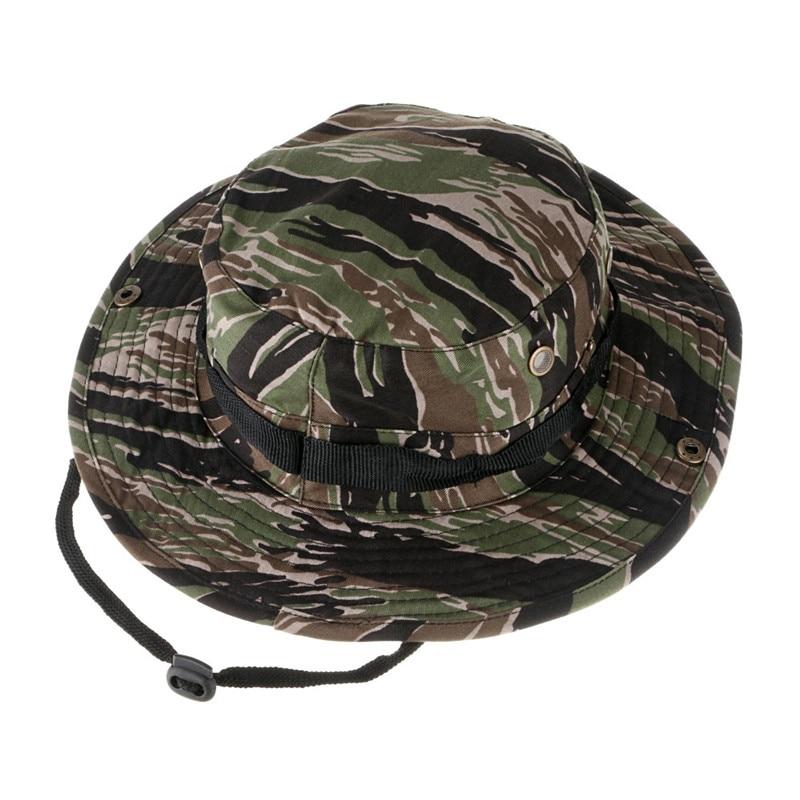 22c213df97a5f Gorra militar sombrero del cubo del camuflaje multifuncional gorras ...
