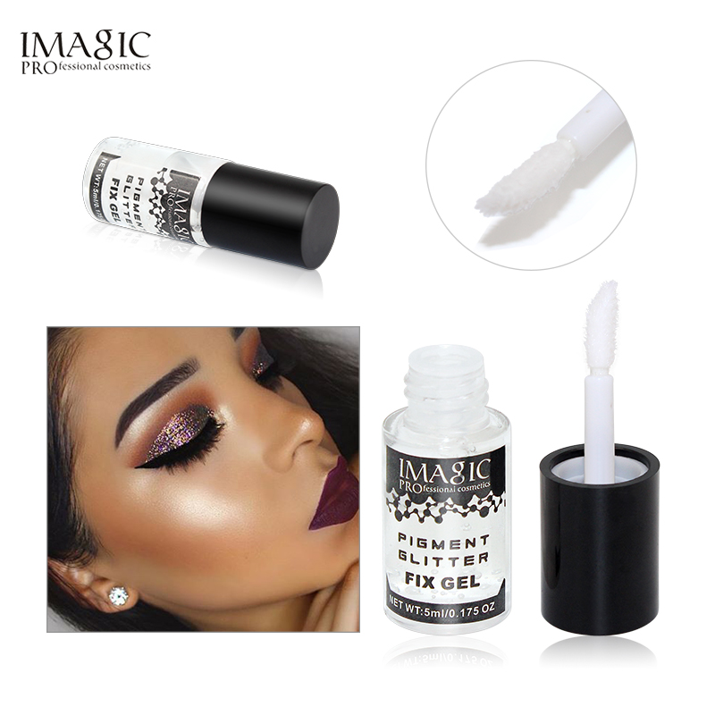 Imagic Eye Base Makeup Liquid Pigment Glitter Fix Gel Primer Waterproof Long Lasting For Loose Glitter Shimmer Eyeshadow