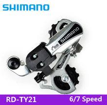 ddc3c62c331 SHIMANO SIS MTB Bicycle Bicycle Parts RD-=TY21 Bicycle Mountain Bike MTB 7/21  Speed Bicycle Rear Transmission Free Shipping