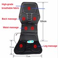 Carro de domicílios multifuncional cervical almofada de massagem para inclinar de aquecimento do assento de carro de volta hip massageador + a ficha calibre
