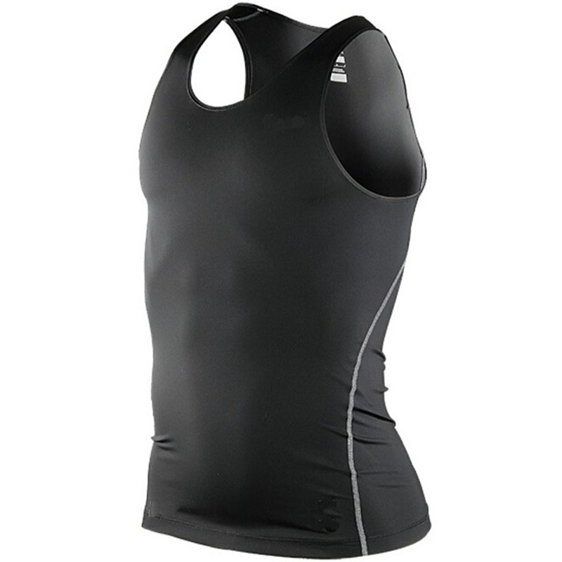 2018 Men Casual   Tank     Tops   Vest O-Neck Summer Male Bodybuilding Sleeveless Gilet Gymclothing fitness Men Vest