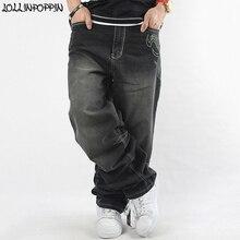 Мешковатые джинсы для мужчин, широкие джинсы, хип-хоп, новинка, модные джинсы с вышивкой в виде крыльев для скейтбординга, уличные хип-хоп мужские джинсы