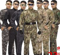 High Quality Army Military Tactical Suit Camouflage Combat Uniform Tactical Military Jacket Sets Outdoor Camping Equipment