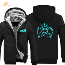 2019 Spring Winter Fashion Anime Hoodie Casual Naruto Sweatshirts Luminous Jacket Mens Hoodies Plus Size Harajuku Hoody