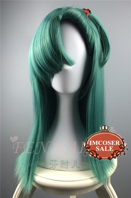 NEW!! IMCOSER  Anime Dragon Ball Z Bulma Modeling Style Blue Cosplay Costume Wig Dragonball Beautiful wig