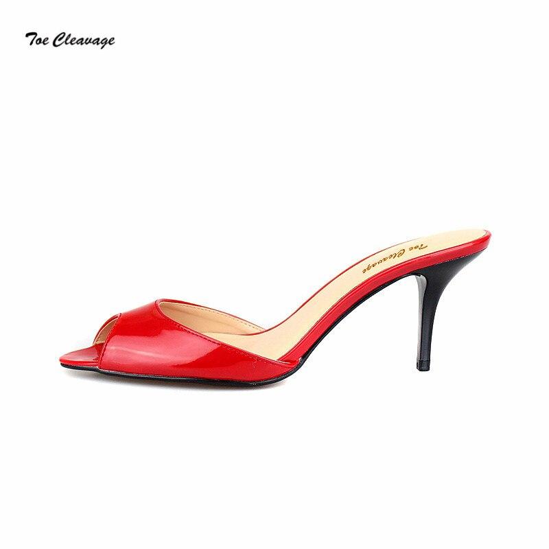 2be1627a36 Aliexpress.com : Buy Feminino stilettos Sandals Summer sexy flip flops woman  7cm Thin Heel Crossdresser Pumps Exegang Office Lady shoes Plus:35 47 48  from ...