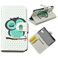 JR For Xiaomi 4 M4 Mi4 Case Book Style Flip Wallet Cover PU Leather Painting Pattern Hard Case Phone Bag Cases