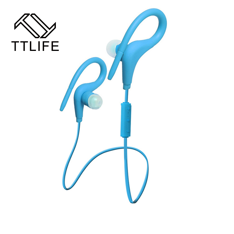 TTLIFE  Brand high quality  Bluetooth Stereo Earphone Wireless Headphone Sports Running Headset For phone of 5 colors