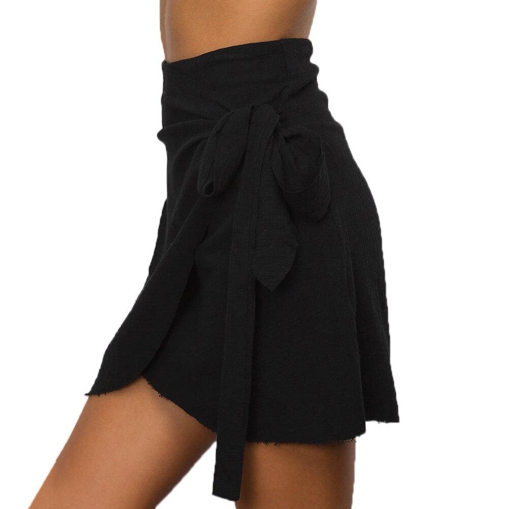 HTB1.ND6RFXXXXbVXFXXq6xXFXXXG - 2017 Fashion Women's Ladies Skirt Summer Beach Strap Irregular Casual Sundress Hip Skirt PTC 281