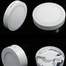 Горячая Распродажа Светодиодный светильник 18 Вт светильник для поверхностного монтажа 8 дюймов люменов круглый светодиодный фонарь DHL