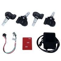 Hotaudio Dasaita TPMS Spécial Date De la technologie Car Tire De Diagnostic-outil Barre de support et PSI avec mini Intérieure capteur Auto
