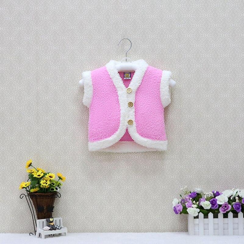 Jacket Winter Coats Long-Sleeve Fleece Toddler Girls Baby Warm Button-Suits Christmas
