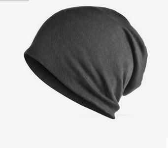Hooded Cap Sleeve Women Pure Cotton Male Korean Tide Pile Bundle Hat Moon Cap Hip Hop Scarf Plus Velor