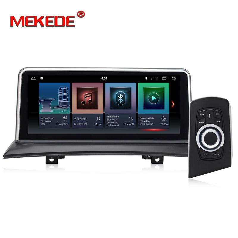 MEKEDE IPS écran Android 8.1 2 + 32G voiture GPS Navi écran pour BMW X3 E83 2003-2009 enregistreur multimédia BT WIFI Google 2 + 32G RAM - 3