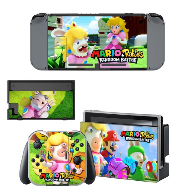 Gift Popular Game Super Mari o Skin Sticker For Nintend Switch Console Controller Vinyl Skin Cover Accessories NS 5