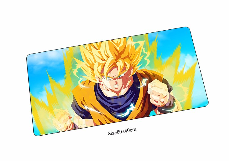 Dragon Ball Z mouse pad HD print pad to mouse notbook computer mousepad 80x40 gaming pad ...