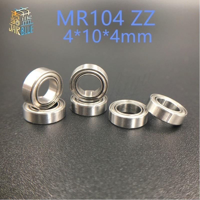 20psc MR104zz 4X10X4mm deep groove ball bearings 4*10*4 L-1040zz bearing free shipping berlingo бумага для заметок c клеевым краем 7 6 х 7 6 см цвет зеленый 100 листов