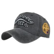 Летняя Бейсболка унисекс; хлопковая шляпа с эффектом потертости; спортивная бейсболка с надписью; Повседневная кепка; czapka z daszkiem