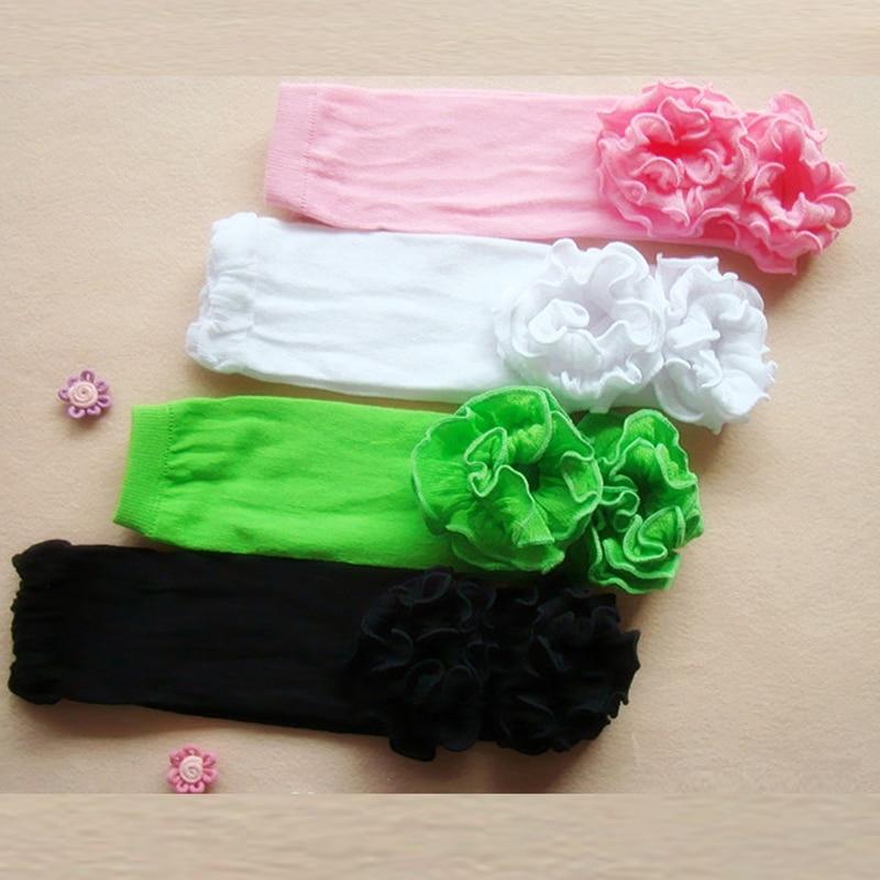New Children Baby Girl Socks Baby Leg Warmers Sock Kneepad Tight Stocking Socks White/Black/Green/Pink цена