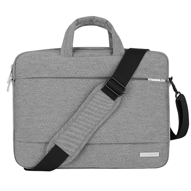 New Laptop Bag 15.6 inch for MacBook Pro Air 13 14 15 inch Solid Notebook Shoulder Messenger Bags Case for Acer Lenovo Dell Men