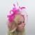 Atacado Chic Mulheres Chapéu De Casamento Tulle Bow Chapéu De Noiva Headpiece Casamento Acessórios de Moda Do Chapéu Do Partido do Casamento Da Gaiola De Pássaro FH6