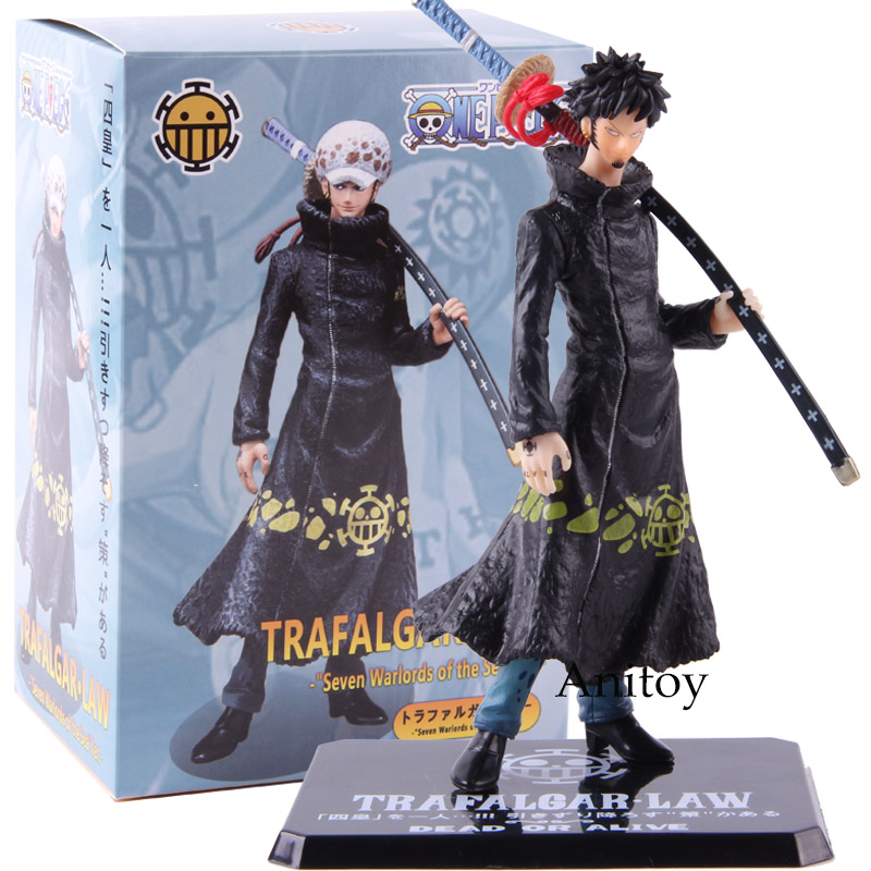 One Piece Heart Pirates Trafalgar Law Action Figure Seven Warlords of the Sea Ver. PVC Collectible Model Toy