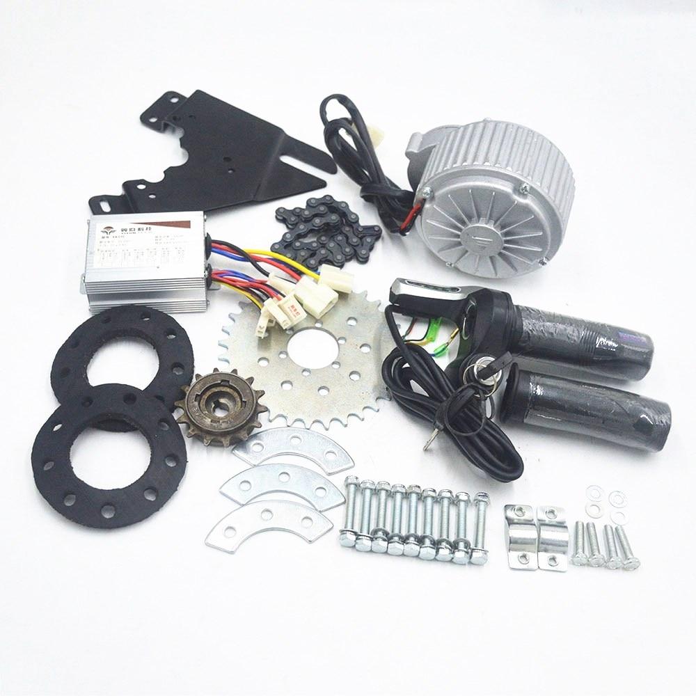 450W 36V Electric Bike Bicycle Conversion Kit Left Drive Hub Motor Ebike Kit USA