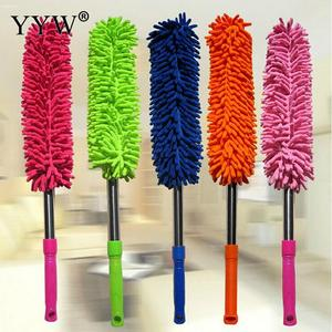 Image 5 - 1pc Dust Clean Holder Flexible Duster Brush Static Anti Dusting Cleaner Brush Home Air Condition Car Furniture Cleaning Tools