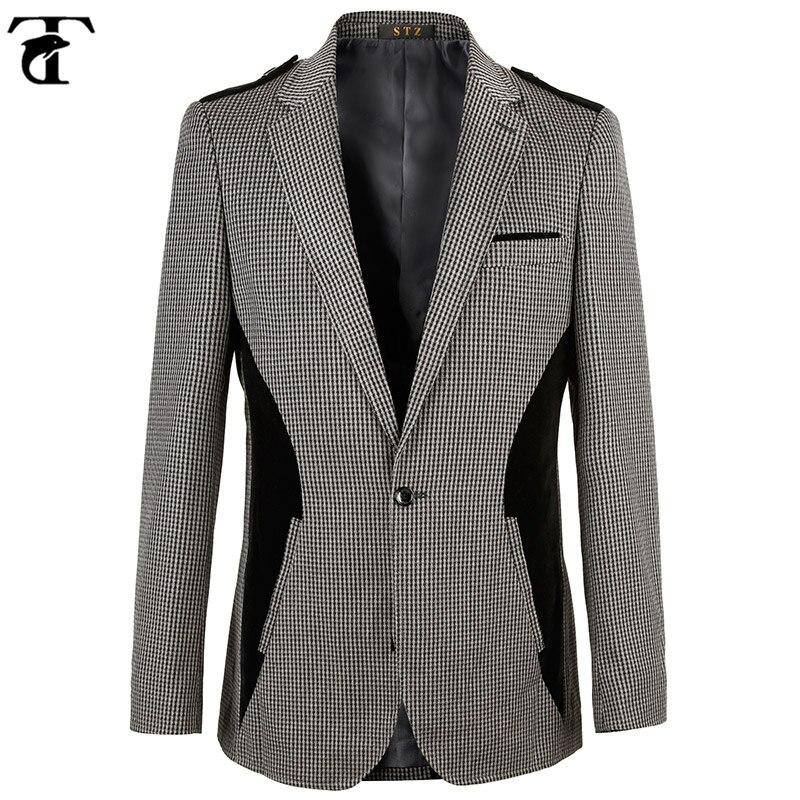 Online Get Cheap Mens Grey Blazer -Aliexpress.com | Alibaba Group
