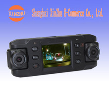 X8000 dual lens HD wide angle GPS track gravity sensing night vision driving recorder