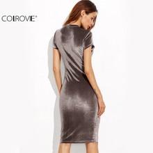 Slim Pencil Dress Elegant Work Wear