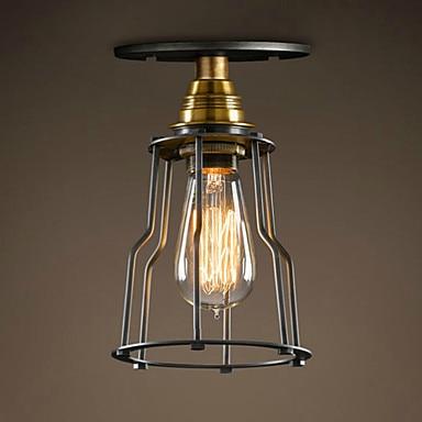 Europski stil Retro Vintage Edison stropna svjetiljka potkrovlje - Unutarnja rasvjeta - Foto 2