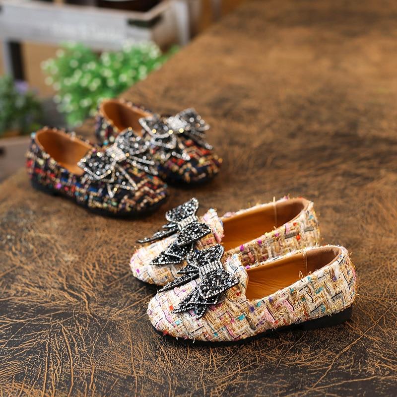 Lente 2018 Nieuwe kinder schoenen Meisjes Schoenen Mode Schattig Boog - Kinderschoenen - Foto 5