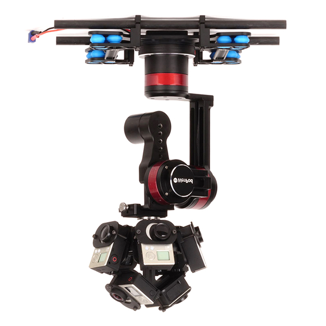WenPod TARZAN A 360 VR Camera Stabilizer For Aerial Photographing Drone Compatible With Orah 4i