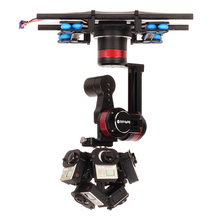 WenPod TARZAN-A VR Stabilizer For Aerial Photographing mount by Drone Compatible with Orah 4i/insta360/Ricoh/Detu/Omni VR Cam
