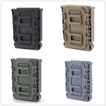 Military Tactical Hunting Single Molle 5.56 7.62 Magazine Pouch For Molle Belt Hunting Accessories Airsoft Single Mag Holster все цены