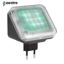 Powstro 4 режима светодиодный ТВ симулятор поддельный телевизор защита от взлома противоохранное устройство домашней безопасности с функцией таймера