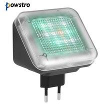Powstro simulador de televisión LED, 4 modos, dispositivo de seguridad antirrobo para el hogar, antirrobo, antirrobo, con función de temporizador