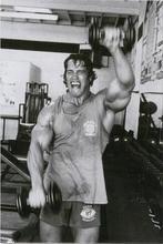 Arnold Schwarzenegger Bodybuilding Motivational Art Wall Decor Silk Print Poster