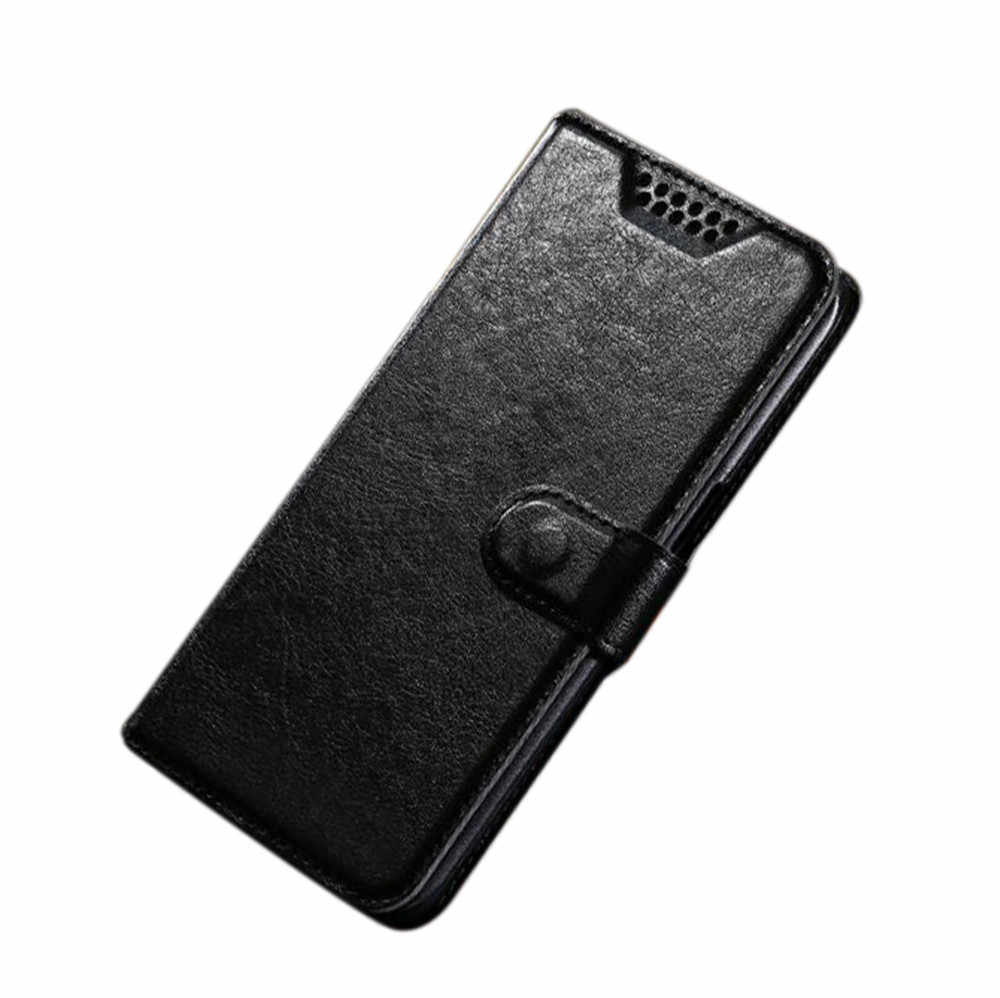 Luxury Wallet PU Leather Case For Tecno Camon 11 X (CA7) Pro i Sky 2 i Twin  iClick2 Cover Protection Flip Phone Case Coque