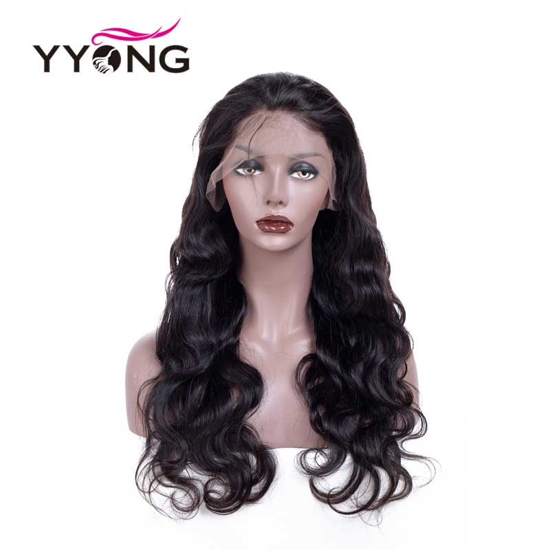 12x3 Body Wave Lace Front Human Hair Wigs For Black Women Pre Plucked Hairline With Baby Hair Brazilian Remy Hair 120% Density