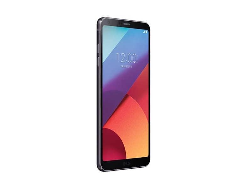 """الأصلي مقفلة LG G6 G600 64 GB ROM واحدة Sim 5.7 """"بوصة NFC الروبوت أنف العجل 821 المزدوج عودة كاميرا 4G LTE الهاتف المحمول"""