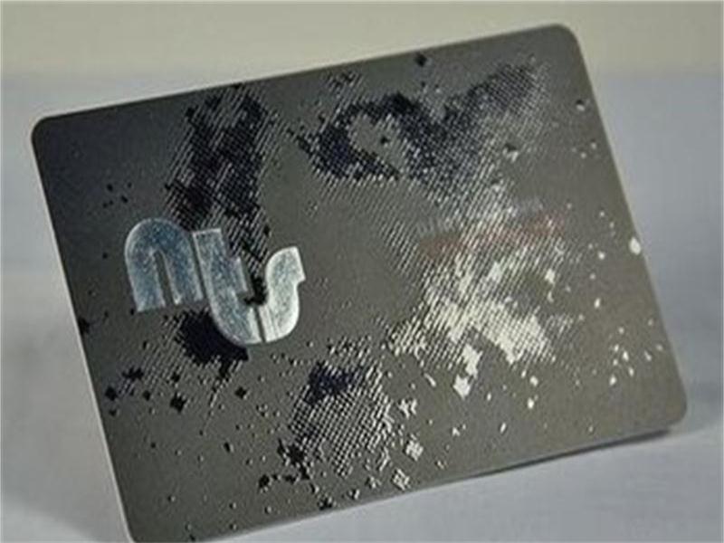 Exquisite Design Custom UV Business Card Silver Foil Business Cards ...
