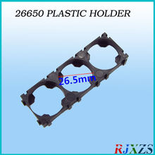 2PCS/alot 3S 26650 Battery Holder Bracket Cylindrical Battery Holder 26650 Holder Safety Anti Vibration Plastic Case Box(China)