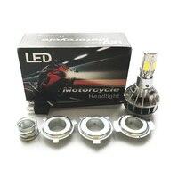 H4 Headlight Bulb Hi Lo Beam M5 Head Lamp Motorcycle LED Light Bulb 35W 3600LM Car