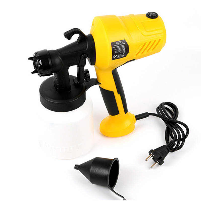 400W Electric Spray Gun HVLP Paint Sprayer Painting Compressor With Adjustable Flow Control Home Electric Paint Sprayer